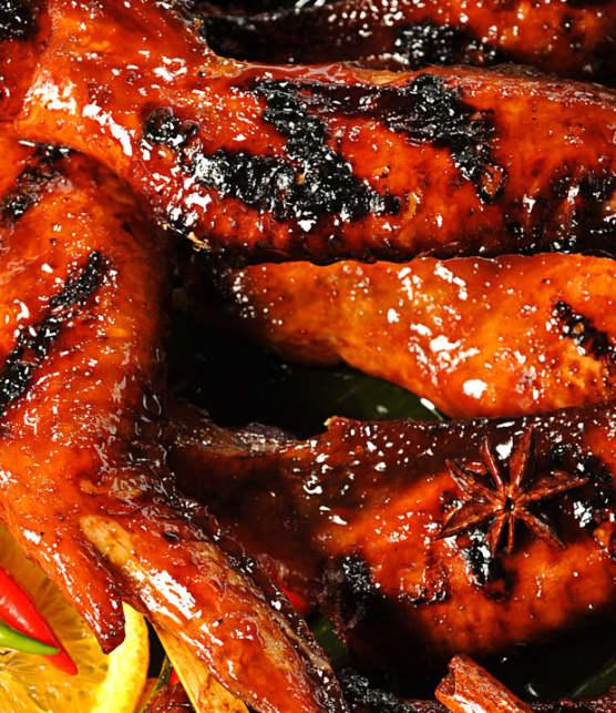 ailes de poulet à l'anis étoilé