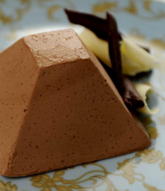 mousse au chocolat toute simple sans oeuf