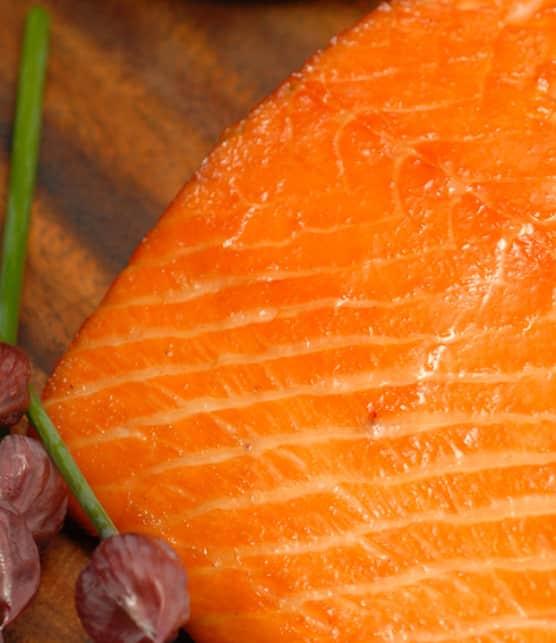 saumon fumé au rhum