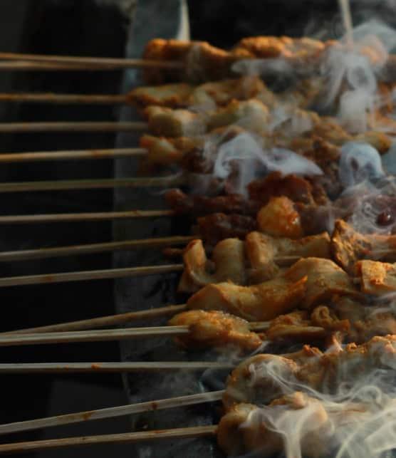 canard à la vietnamienne rôti à la broche