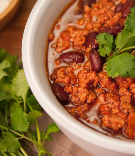 chili con carne de chorizo