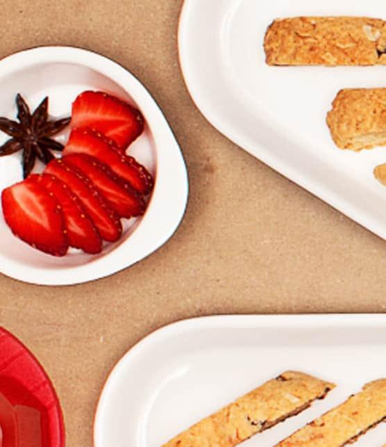 fraises au sirop d'anis étoilé