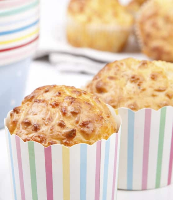 muffin à l'érable et au bacon