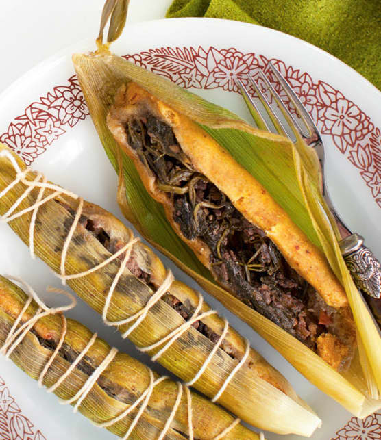 tamales au boeuf