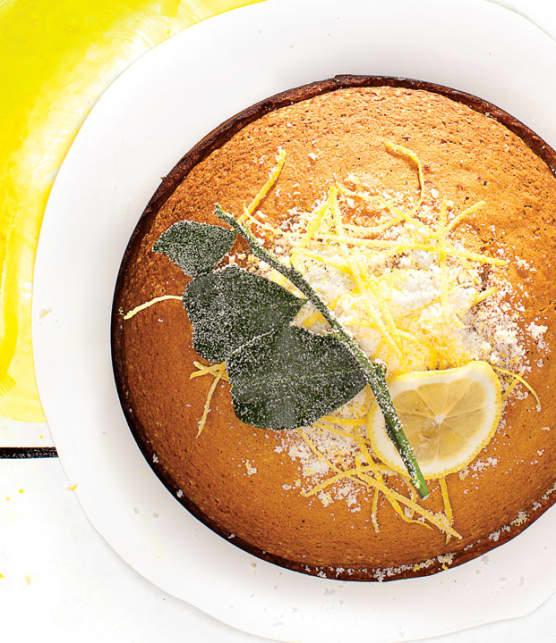 gâteau à l'huile d'olive et au citron