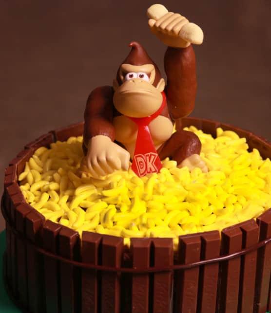 gâteau aux bananes « Donkey Kong »