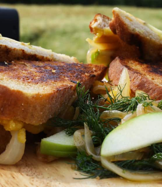 sandwich Cornish Rarebit