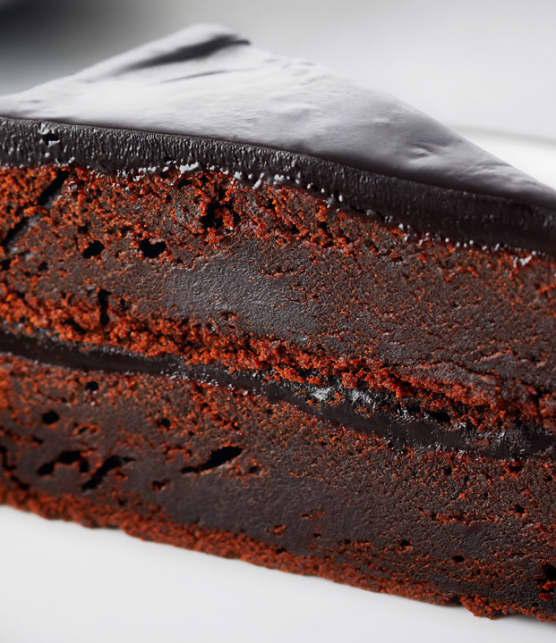 gâteau au chocolat et à la betterave