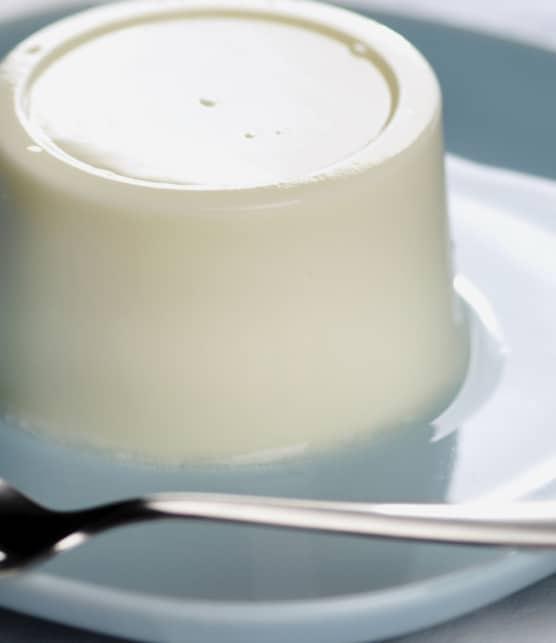 trilogie de panna cotta aux asperges blanches