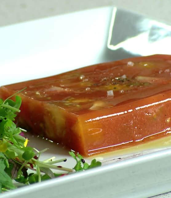 terrine de tomates miniatures trois couleurs