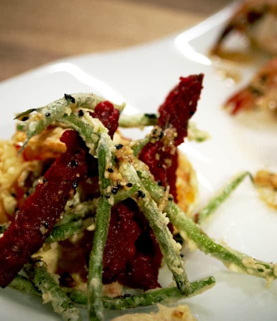 tempura de légumes croustillants facile