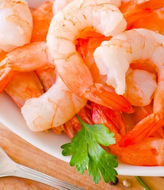crevettes roses à cocktail
