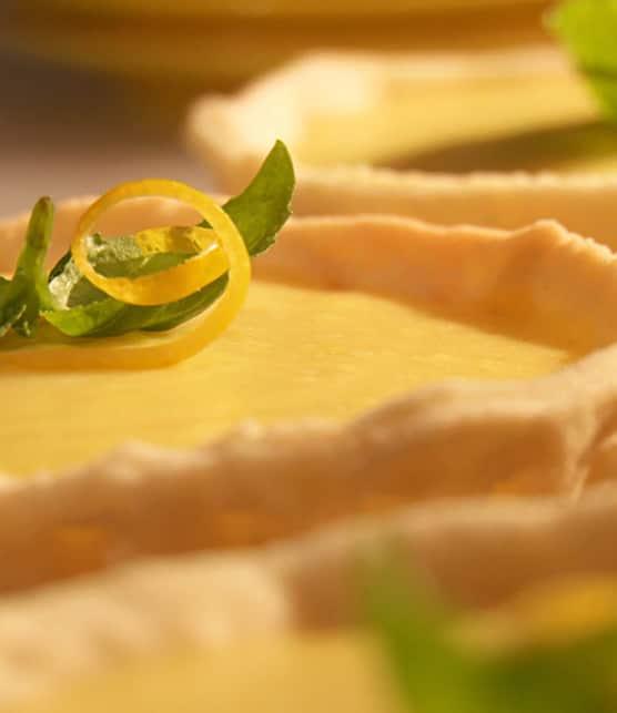 tarte à la crème de citron