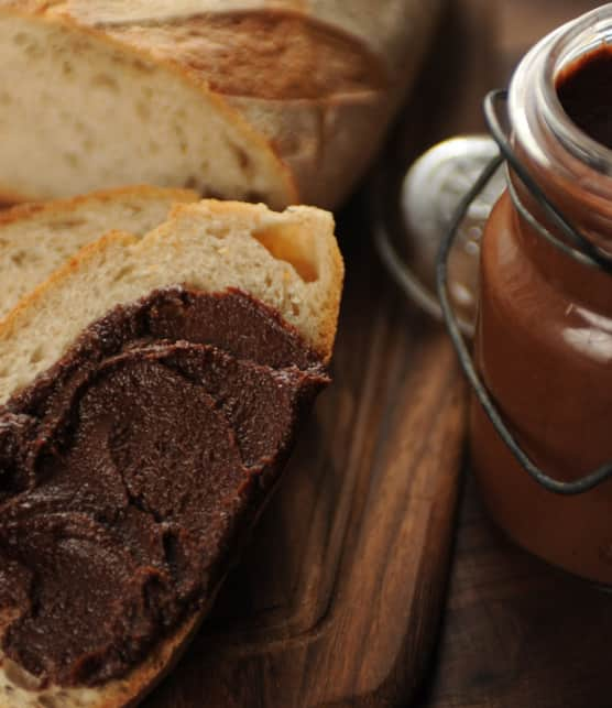 pâte à tartiner choco-noisette