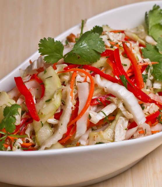 salade de chou napa asiatique