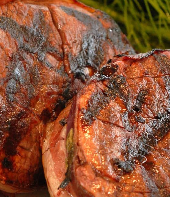 steak d'agneau au poivre de Sichuan