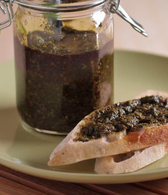 pesto de basilic au yuzu