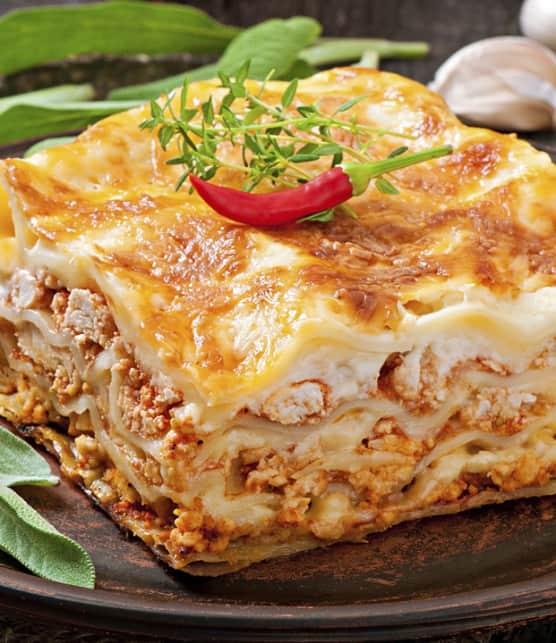 lasagne aux saucisses de mamie Maddalena