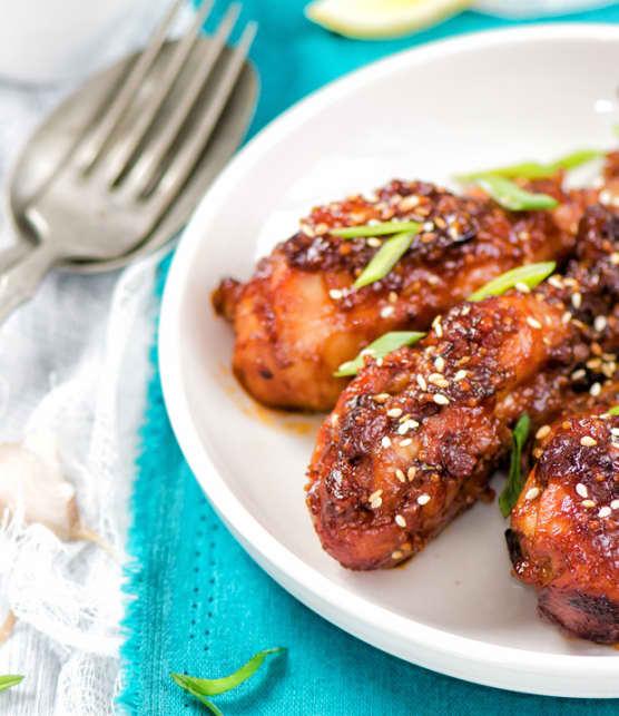 pilons de poulet croustillant aux 5 épices