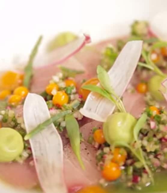 salade Sashimi