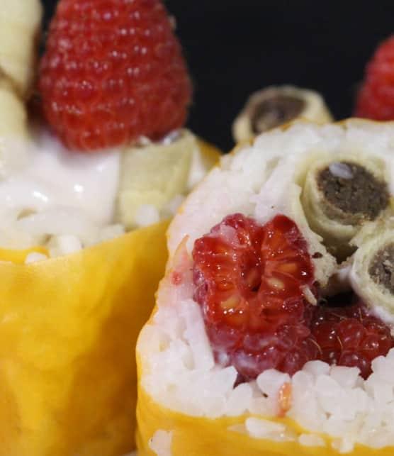 maki dessert crousti-brownies
