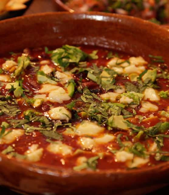 soupe épicée à la mexicaine