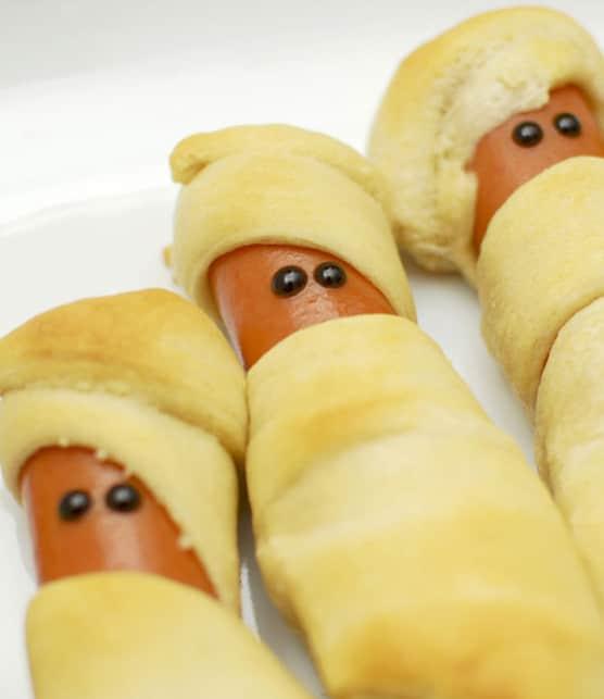 hot-dog momie