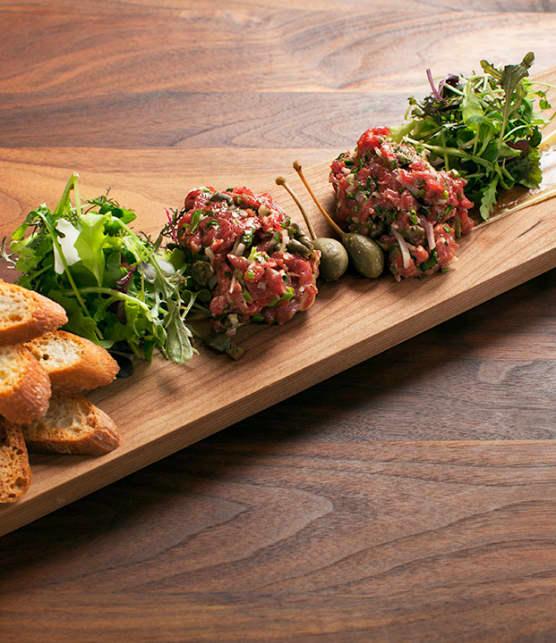 tartare de bœuf classique