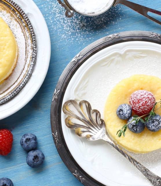 petits gâteaux au fromage sans cuisson