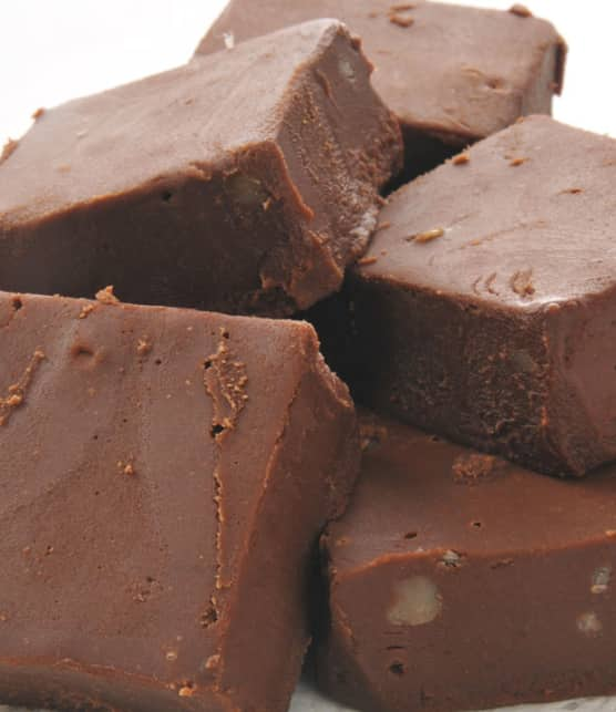 fudge aux guimauves