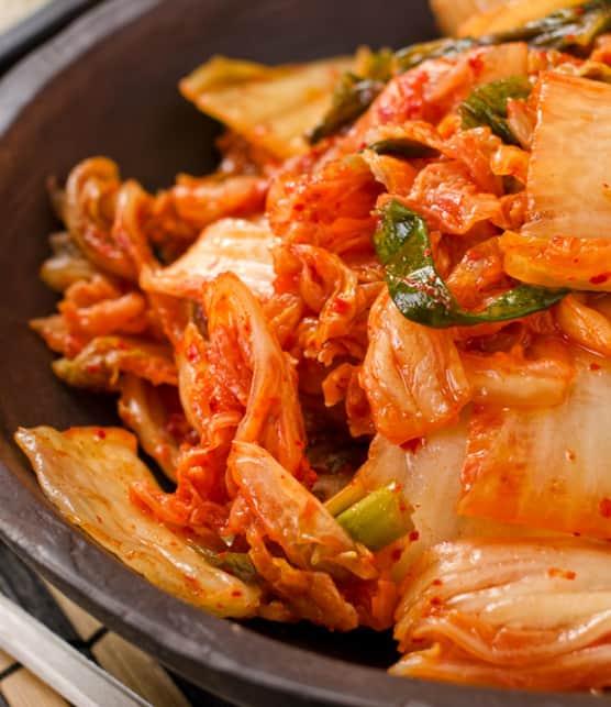 kimchi de bok choy