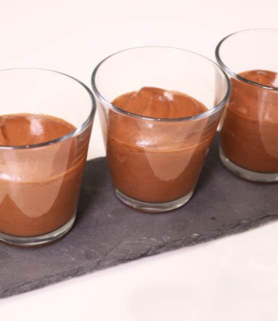 Recette de mousse au chocolat sans oeufs