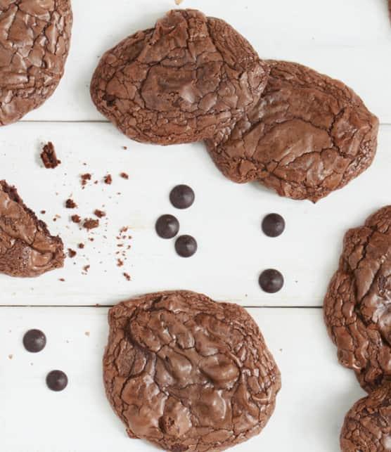 Recette rapide de biscuits au chocolat