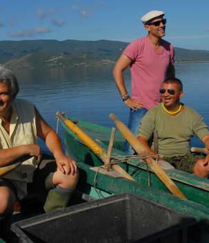 Les pêcheurs d'Orbetello