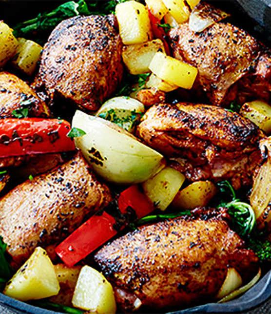poulet à la portugaise