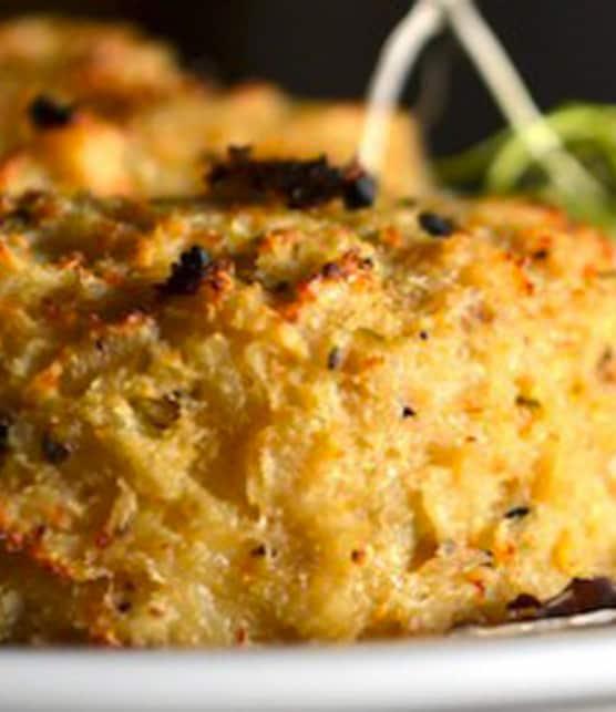 gâteaux de crabe au quinoa