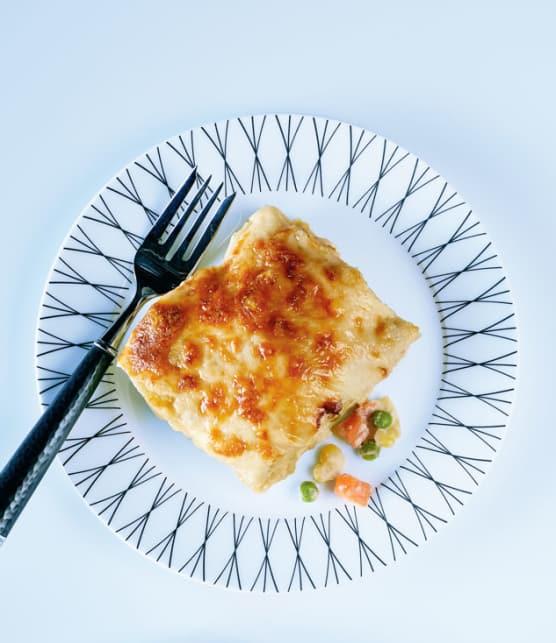 Lasagne végé au pesto