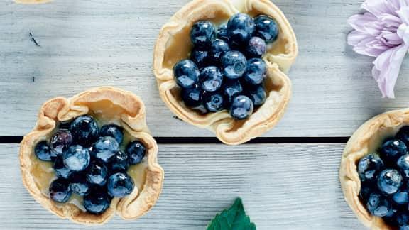 TOP : 10 recettes de desserts aux bleuets