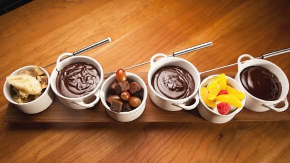 Fondue au chocolat facile et rapide