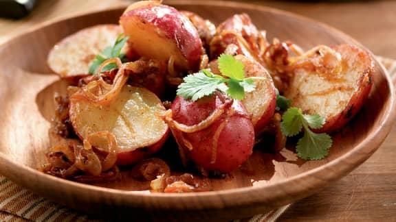 Salade de patates et de pommes de terre
