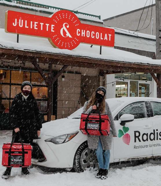 5 plateformes de livraison de nourriture québécoise à découvrir