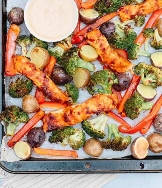 Menu de la semaine du 22-26 février : Cuisiner à la plaque