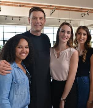 Taciana, Roxanne, Alexandra et Roxanne (Girl Squad)