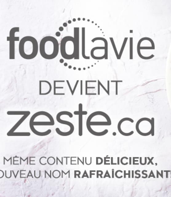 Une nouvelle plateforme culinaire, le même contenu délicieux!