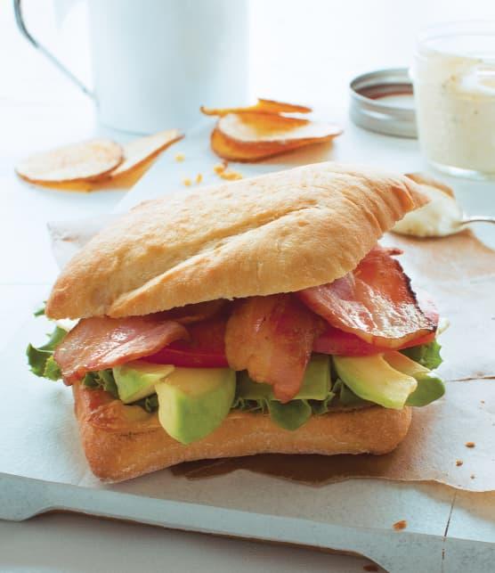 Technique pour faire un sandwich BLT