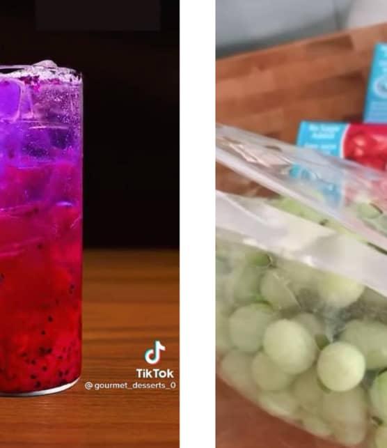 3 recettes rafraîchissantes vues sur TikTok