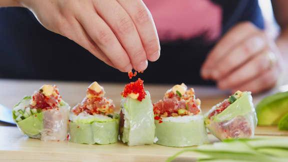 TOP : 8 recettes de Makis pour une soirée sushis réussie!