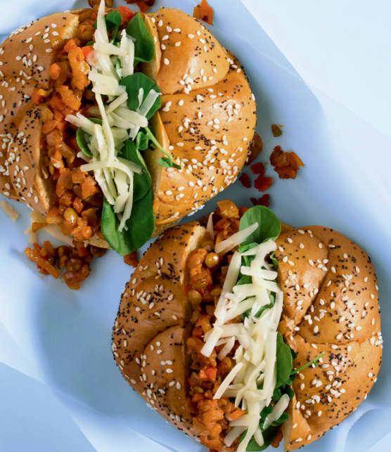 TOP : 8 recettes végétariennes faciles aux lentilles