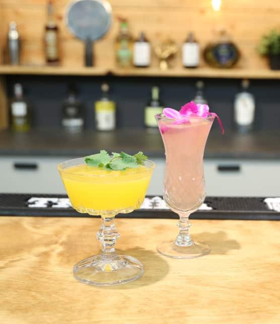 Deux cocktails à base de tequila à essayer : El Tropical et El Pomélo