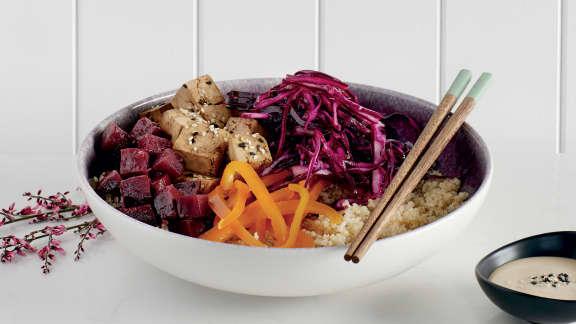 Bol de Bouddha au quinoa